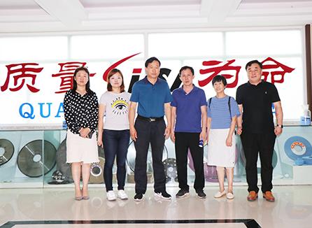 涂附磨具分會秘書處走訪調研青島地區部分會員企業
