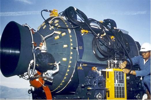 图7 固体火箭发动机喷管