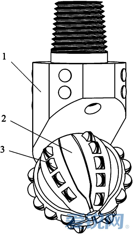 一种具有pdc组合齿的单牙轮钻头-超硬制品,机械设备