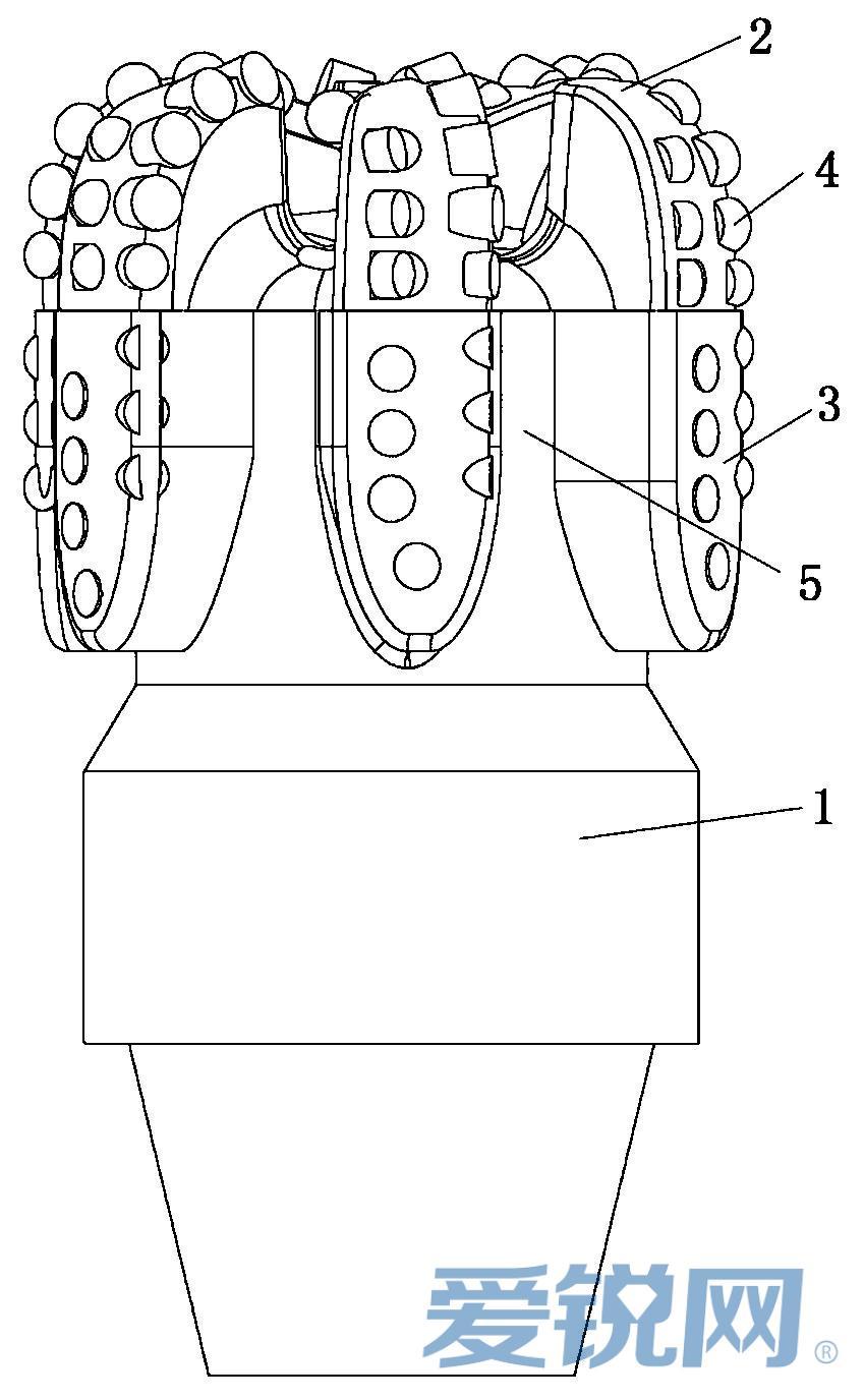 专利:一种防掉块卡钻pdc钻头