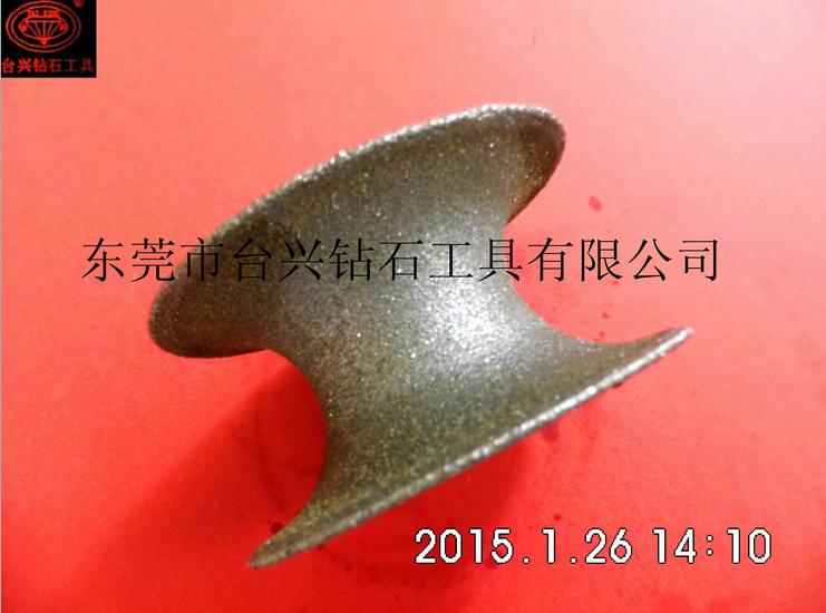 【臺興牌高品質】車輪型電鍍金剛石砂輪,研磨專用
