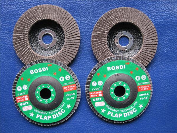 100*16  煅燒平面砂布輪 拋光片 塑料蓋 不銹鋼專用
