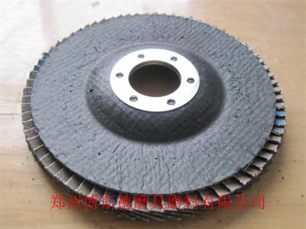 100*16 95網蓋  不銹鋼專用 4寸平面砂布輪