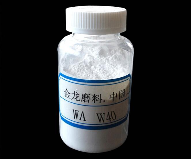 優質一級白剛玉微粉-W40【金龍磨料】