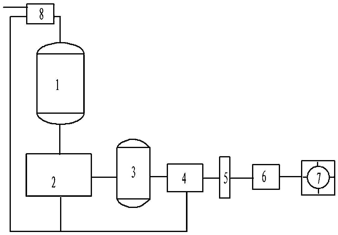 一种生产酚醛树脂产生的含酚废水的处理装置